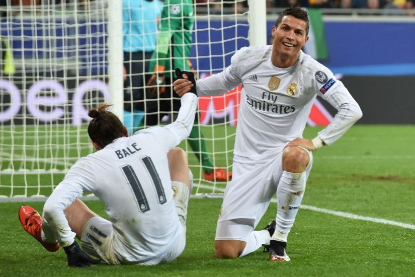 No 'little kisses' like Barca's MSN, but Ronaldo needs Bale back at Real  Madrid