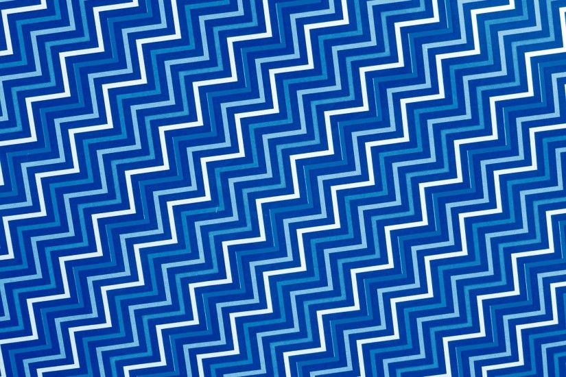 Blue White Zig Zag Background