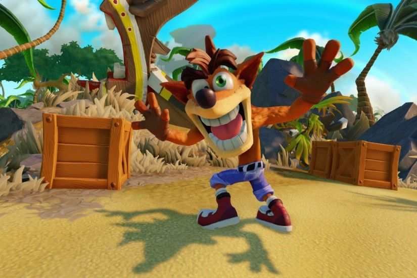 Crash Bandicoot Shines in Two Skylanders Imaginators Trailers to Celebrate  20th Anniversary