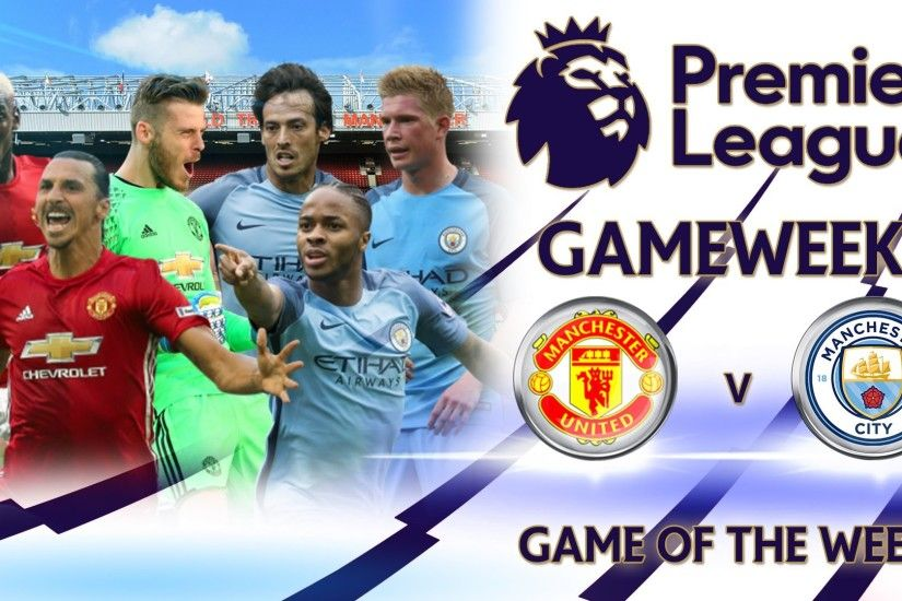 Man Utd vs Man City - Fifa Premier League 2016/17 - Game of the Week