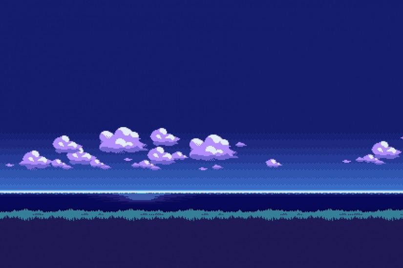 pixel art wallpaper 1920x1145 download