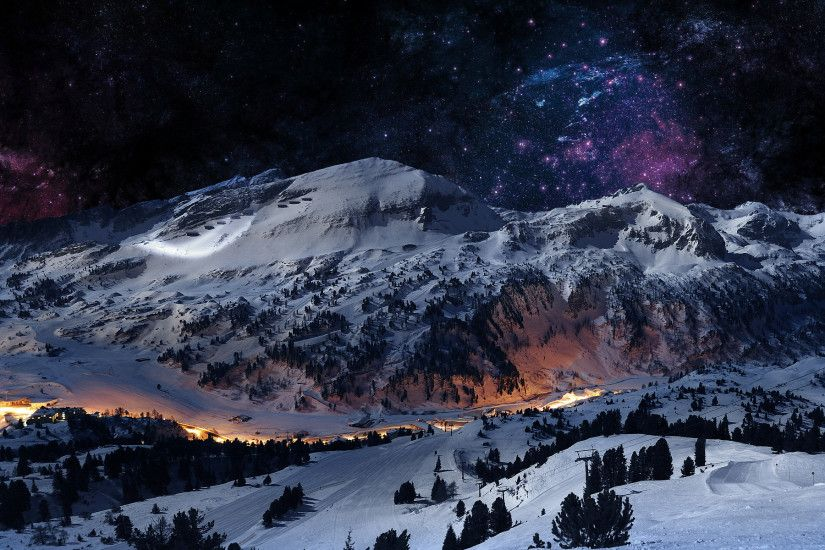 Daily Wallpaper: Winter in the Mountains [Exclusive] | I Like To Waste My  Time