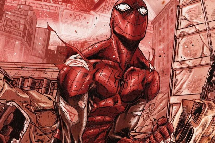 5 The Superior Spider-man HD Wallpapers | Backgrounds - Wallpaper Abyss