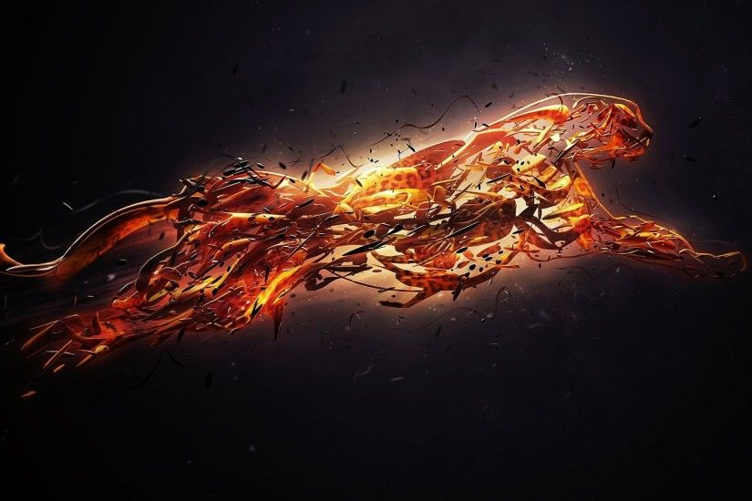 Fire Art Wallpaper 5