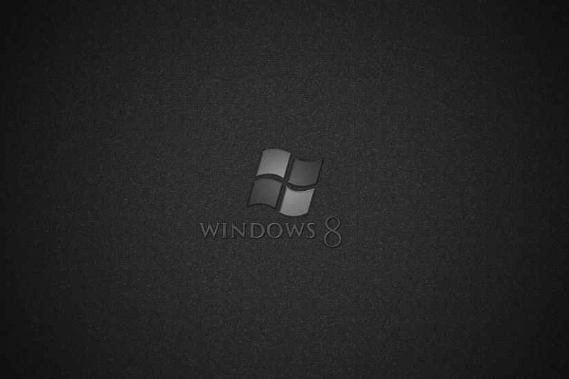 Windows 8 Black Wallpaper © downloadwallpaperhd.com