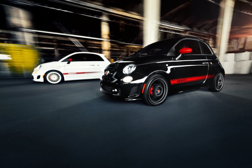 Fiat 500 Abarth Duo Speed wallpapers and stock photos