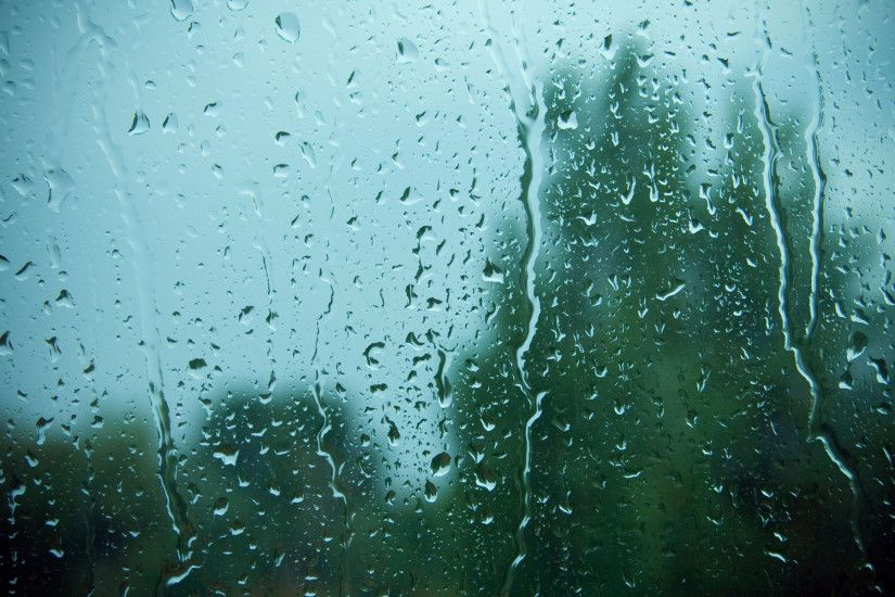 Download Abstract wallpaper, 'Rain on Window ...