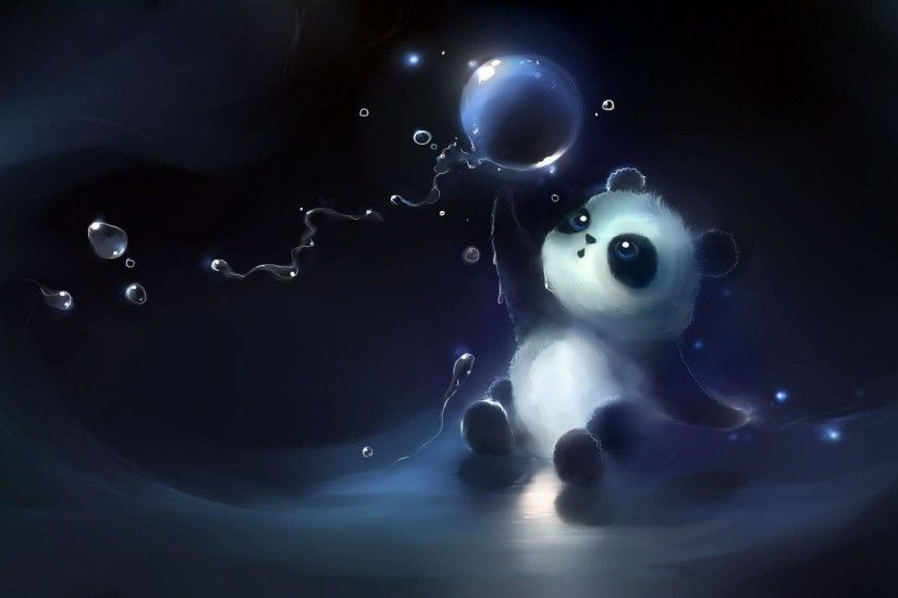 Wallpapers For > Anime Panda Bear Wallpaper