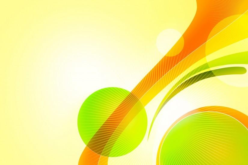 Abstract Design, Bright, Yellow, Green, Orange wallpaper
