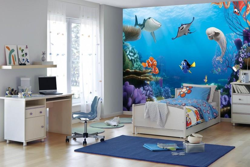 Finding Dory Disney paper wallpaper mural