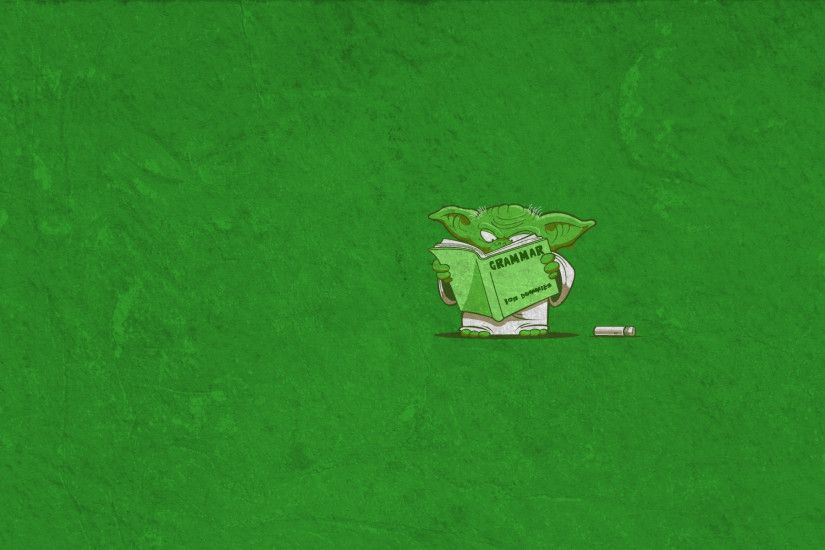 wallpaper green · Star Wars · minimalistic · funny