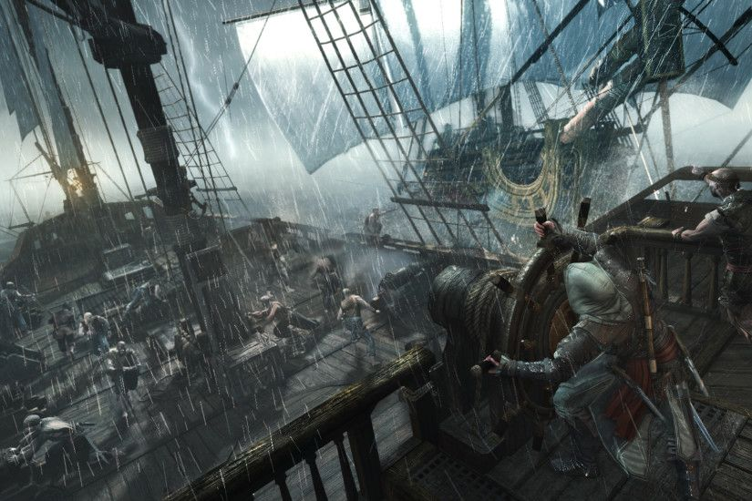 Assassin's Creed 4: Black Flag – Pirate Gameplay Video Naval Exploration