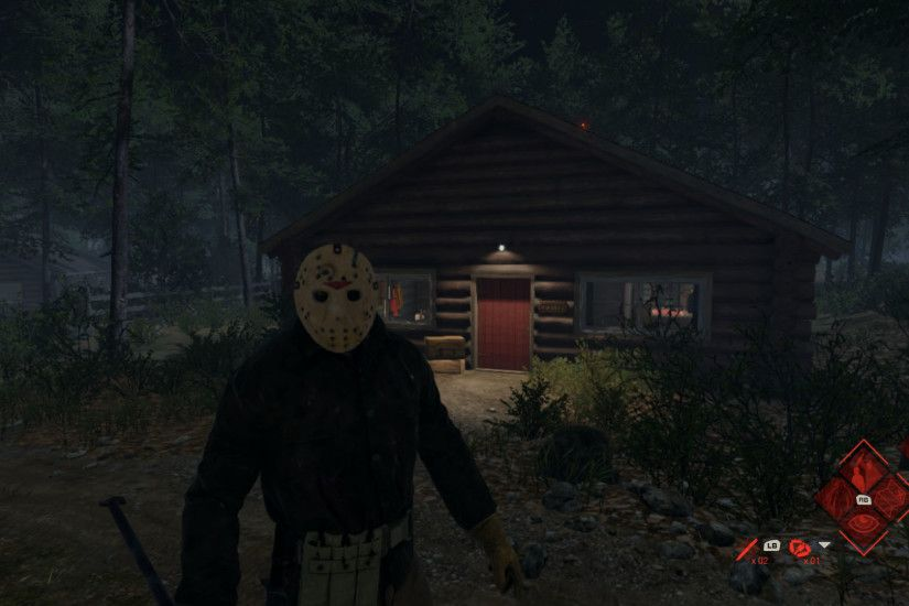 The best snap I ever captured: Jason vs Tommy. Friday the 13th: The Game
