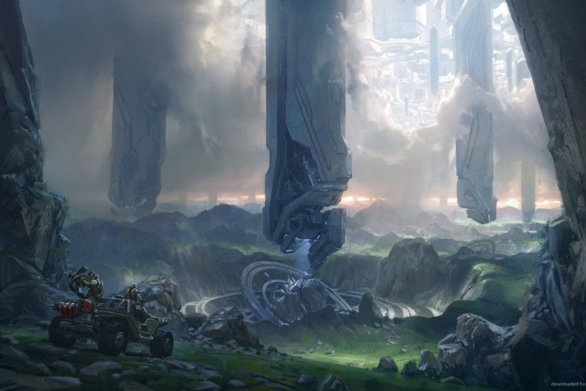 Halo 4 Concept Art for 1920x1080