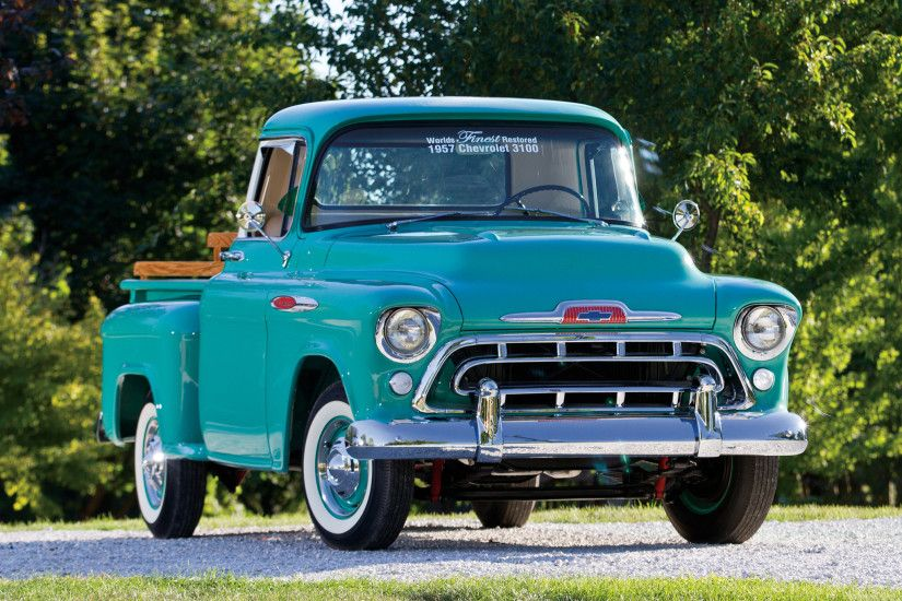 1957 Chevrolet 3100, 235 straight 6 cylinder/3 on-the-tree/3.90 axle | 2WD  PickUp | Pinterest | 1957 chevrolet, Chevrolet and Chevy