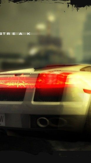 2160x3840 Wallpaper need for speed most wanted, lamborghini, car, light,  drift,