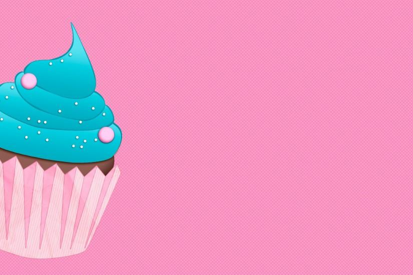 Pink Cupcake Background