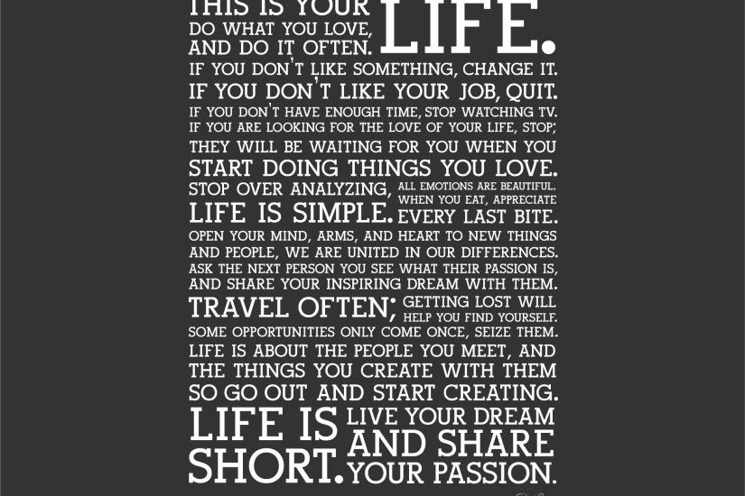 Holstee Manifesto - Viewing Gallery