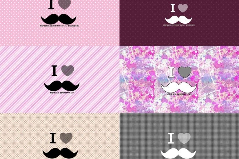 6 Wallpapers Moustache by AreMySoul on DeviantArt