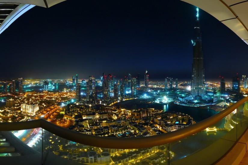 Preview wallpaper dubai, burj dubai, night, lights, summer, beauty, city