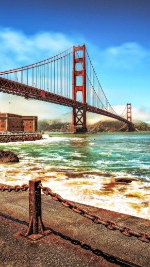 Get free high quality HD wallpapers iphone 6 plus wallpaper golden gate  bridge