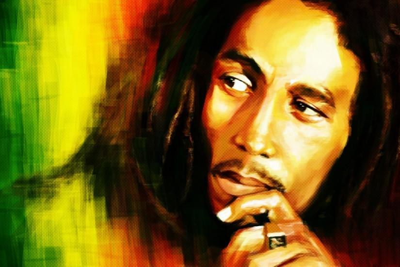 Bob Marley Portrait HD Wallpapers | HD Wallpapers