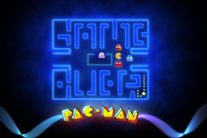 Pac-Man Widescreen Wallpaper