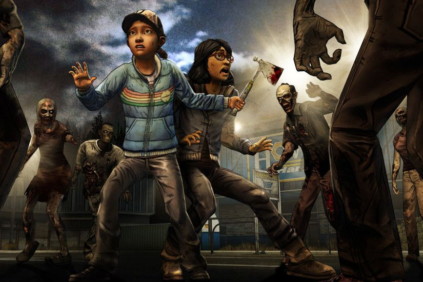 <b>The Walking Dead game</b> has a new lead,