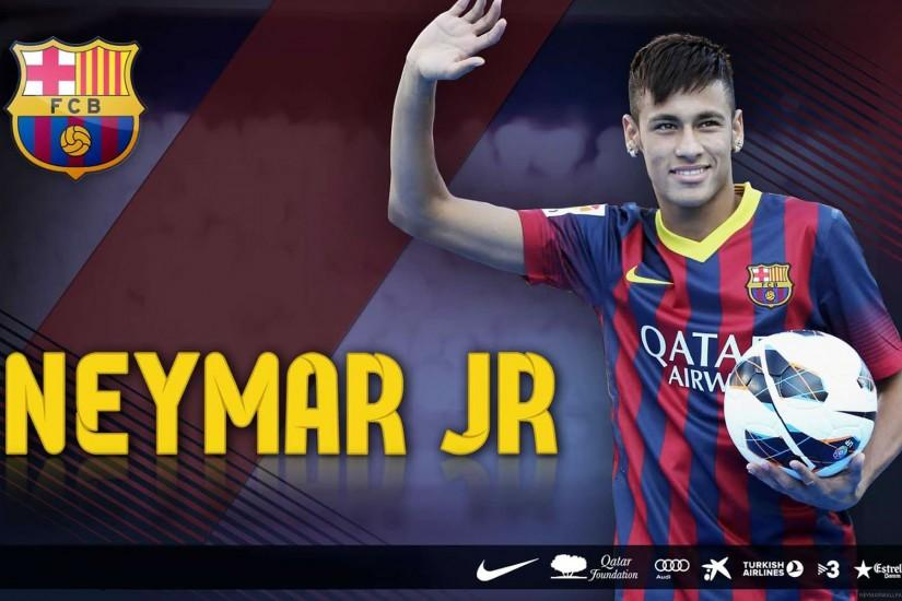 Neymar waving wallpaper