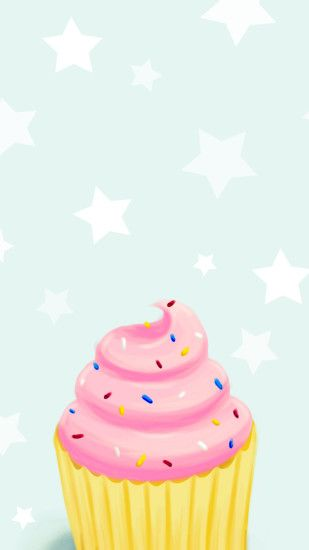 Cartoon-cupcake-wallpaper by ZolMariee on DeviantArt