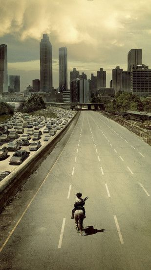 Walking Dead Atlanta City Android Wallpaper ...