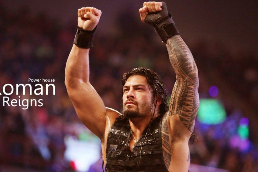 Roman Reigns WWE Power House New HD Wallpaper ...