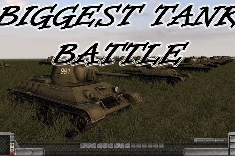 Men of War Assault Squad 2 - Biggest Tank Battle in MoW? - RobZ Realism Mod  - Editor Scenario #6 - YouTube