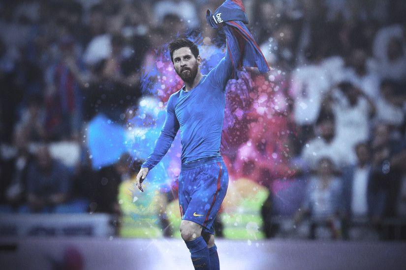 ... Lionel Messi HD Background - Iconic Celebration by E-ZAF