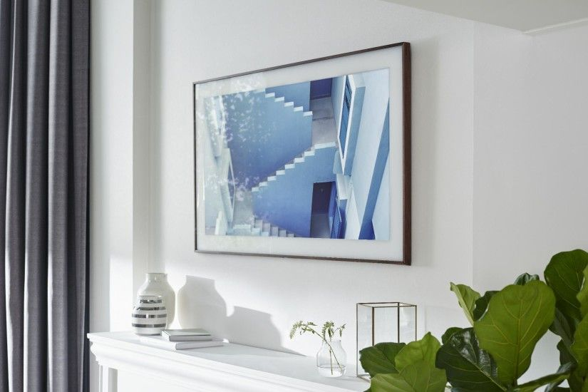 The Frame: Samsung's new 4K TV transforms into wall art | The Independent