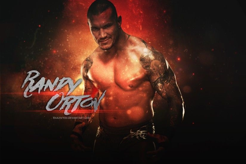 AmbriegnsAsylum16 3 0 Randy Orton Wallpaper by RaazivYdv