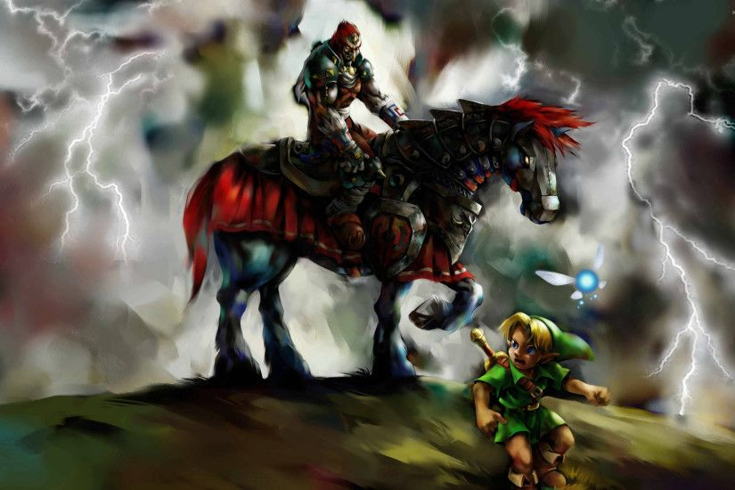 Legend Of Zelda Ocarina Of Time Wallpaper Desktop Background
