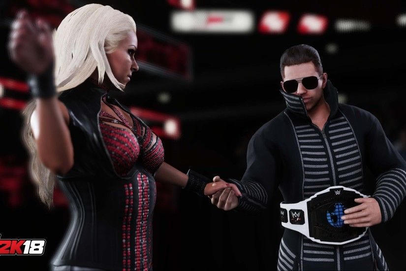 The Miz and Maryse WWE 2K18 HD Picture