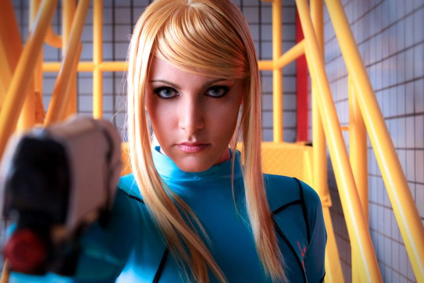 Women - Cosplay Wallpaper. Download! Next Wallpaper · Prev Wallpaper. Zero  Suit Samus