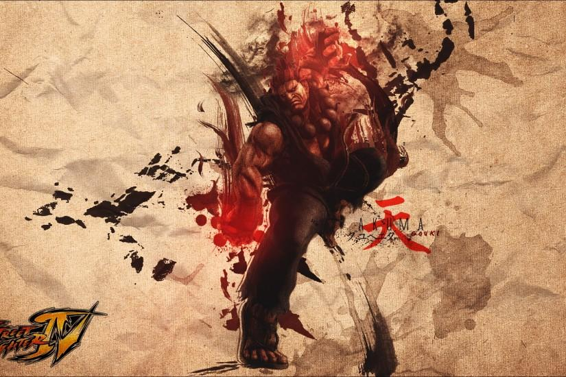 HD Akuma Street Fighter Background.