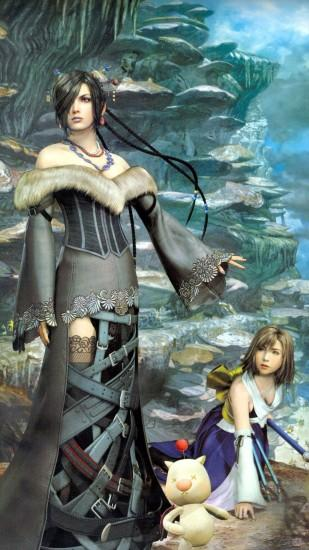 Yuna and Lului - Final Fantasy X Wallpaper