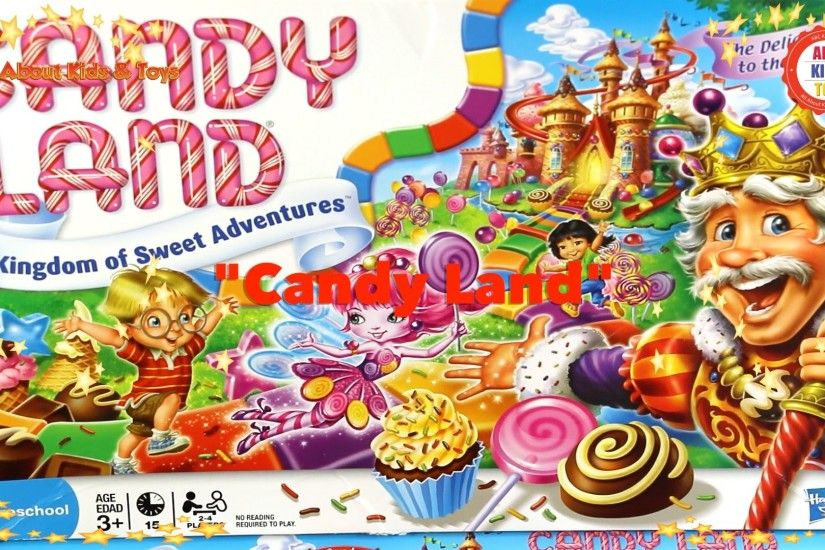 Candy Land Race to Cupcake Gummy Ginger Bread Lollipop Chocolate Ice Palace  Candy Castle Game Color - YouTube