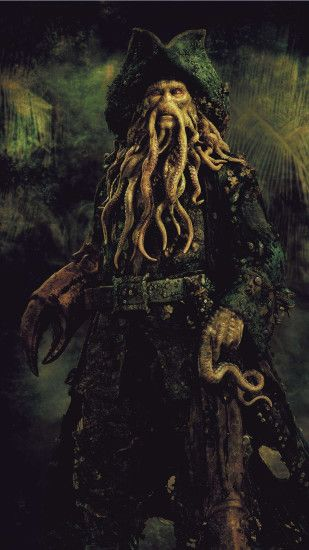 Davy Jones - Pirates of the Caribbean Wallpaper