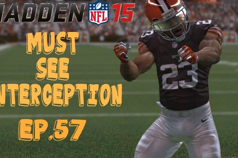 Madden 15 Ultimate Team - BEST INTERCEPTION EVER! JOE HADEN QUICKSELL?? MUT  15 Ep.57 - YouTube