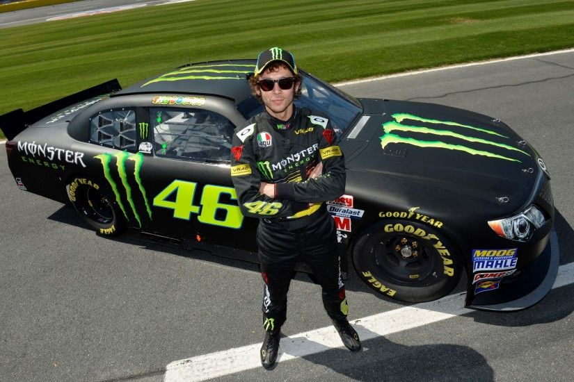 "Valentino Rossi Drives Kyle Busch's NASCAR Nationwide Car, Does ""Pretty  Good"""
