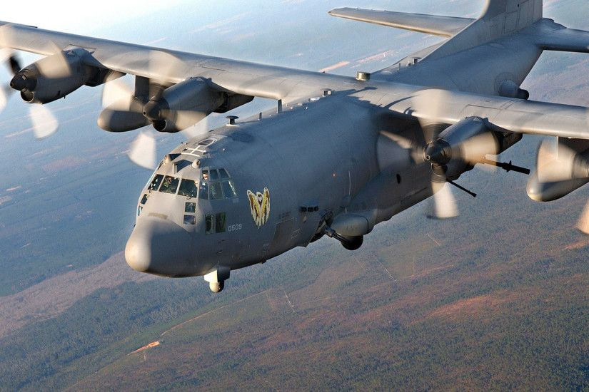 1920x1080 Military - Lockheed AC-130 Wallpaper
