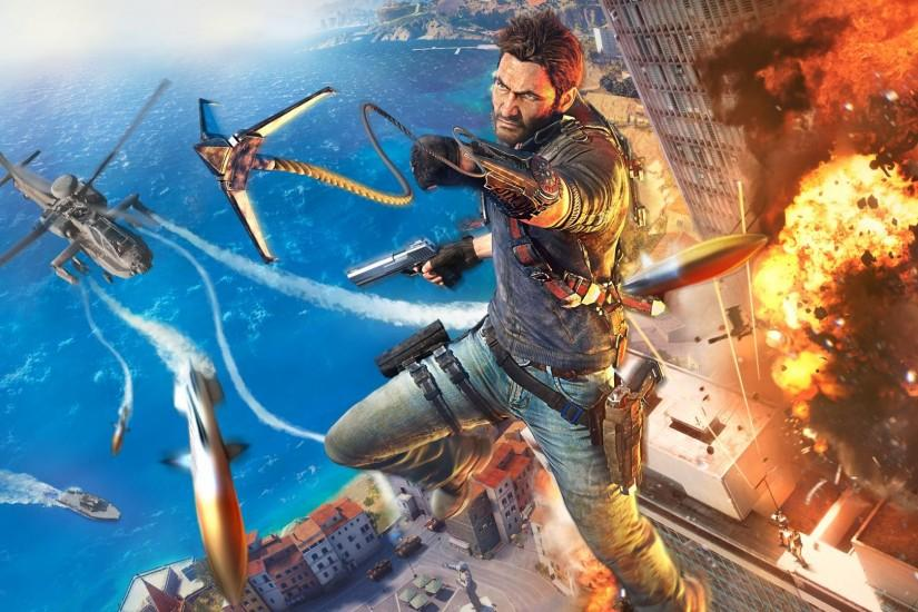 Computerspiel - Just Cause 3 Wallpaper