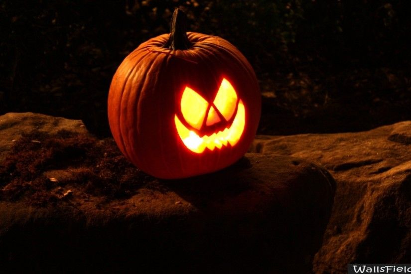 You can view, download and comment on Single Scary Pumpkin free hd  wallpapers for your