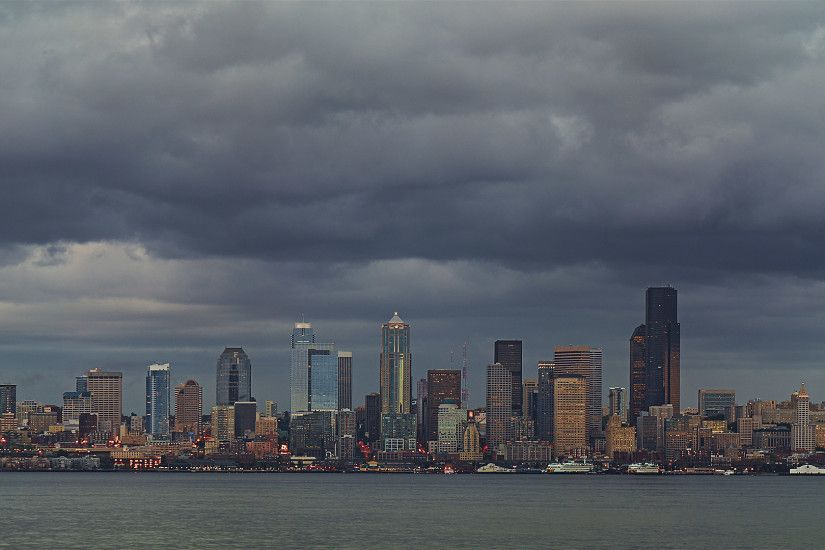 Seattle Skyline HD Wallpaper. HD Wallpaper