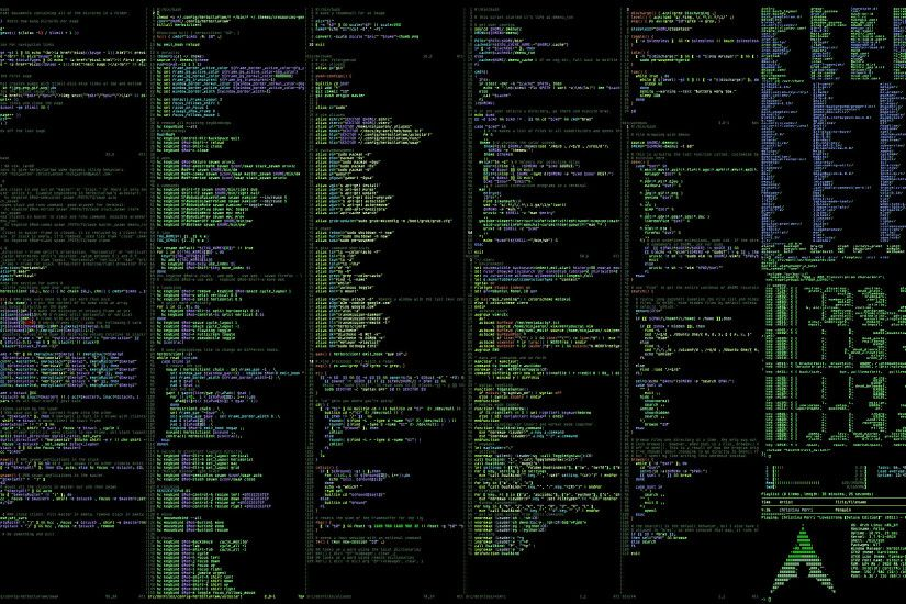 Commands Linux Archlinux Terminal computer system programming wallpaper